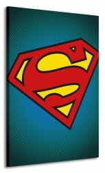 Dc Comics (Superman Symbol) - Obraz na płótnie