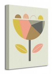 Little Design Haus (Scandi Flower) - Obraz na płótnie