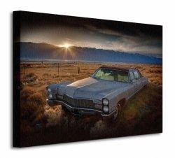 Obraz do sypialni - Last Light - Keeler, California