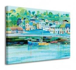 Obraz do salonu - Harbour Colours - 80x60 cm