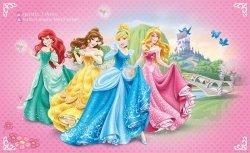 Fototapeta dla dzieci - Księżniczki Princes Disney - 254x184cm