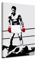Obraz na płótnie - Muhammad Ali (Gloves - Corbis)