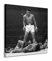 Obraz do sypialni - Muhammad Ali (Ali vs Liston - Corbis)