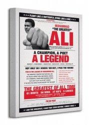 Muhammad Ali (Vintage - Corbis) - Obraz na płótnie