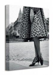 Time Life (Dior Leopard Print) - Obraz na płótnie