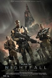 Halo Nightfall Key Art - plakat