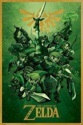 The Legend Of Zelda (Link) - plakat
