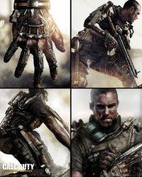 Call of Duty Advanced Warfare Kolaż - plakat