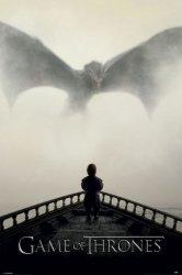 Gra o Tron Lew i Dragon - plakat