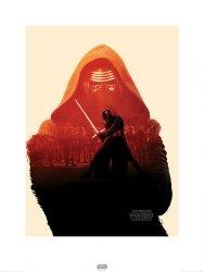 Star Wars The Force Awakens Kylo Ren - reprodukcja