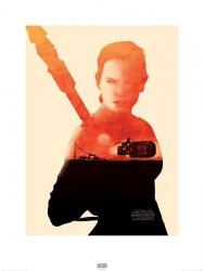 Star Wars The Force Awakens Rey - reprodukcja