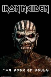 Iron Maiden The Book Of Souls - plakat