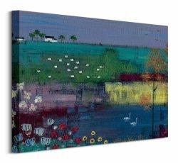 Swan Lake - Obraz na płótnie