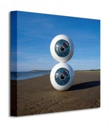 Pink Floyd (Pulse Eyeballs) - Obraz na płótnie