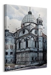 Obraz na płótnie - Jack The Flipper (Venice I) - 60x80 cm