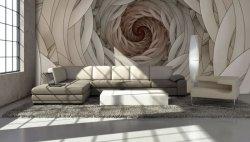 Fototapeta do salonu - Spiralny fractal III - 366x254cm