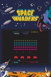 Space Invaders - plakat