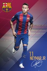 FC Barcelona Neymar Jr - plakat