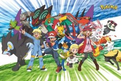 Pokemon, Pokemony - plakat
