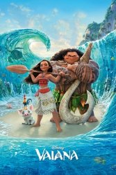Vaiana Skarb oceanu Magiczny Ocean - plakat