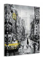 Brooklyn Cab - Obraz na płótnie