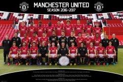 Manchester United Drużyna Zdjęcie 16/17 - plakat