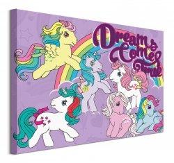 My Little Pony Retro Pony Friends - obraz na płótnie