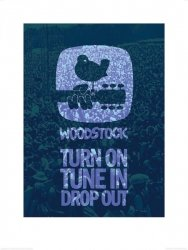 Reprodukcja - Woodstock Drop Out