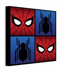 Spider-Man Homecoming Symbols - obraz na płótnie