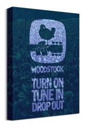 Woodstock Drop Out - obraz na płótnie
