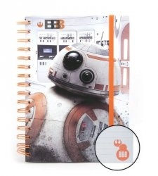 Star Wars The Last Jedi (BB-8) - notes A5