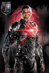 Justice League Cyborg - plakat