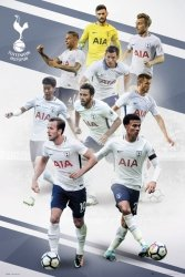 Tottenham Zawodnicy 17/18 - plakat