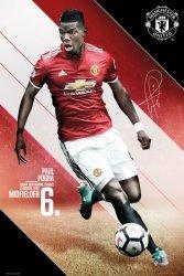 Manchester United Pogba 17/18 - plakat
