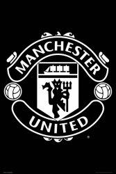 Manchester United Logo 17-18 - plakat