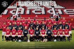 Manchester United Zawodnicy 17/18 - plakat