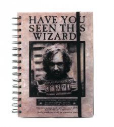 Harry Potter (Wanted Sirius Black) - notes