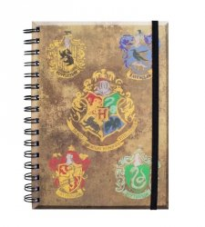 Harry Potter Domy Hogwartu - notes
