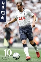 Tottenham FC Kane 18/19 - plakat