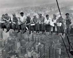 New York (Lunch On A Skyscraper) - plakat