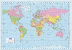 Mapa Świata (wersja ang.) - plakat