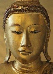 Fototapeta na ścianę - Złoty Budda - 183x254cm
