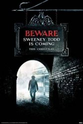 Sweeney Todd (Beware) - plakat