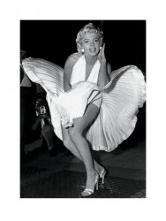 Marilyn Monroe (Seven Year Itch) - reprodukcja