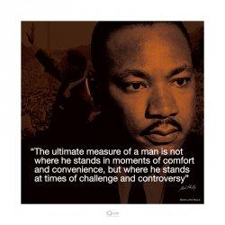 Martin Luther King Jr (Życiowe cytaty) - reprodukcja