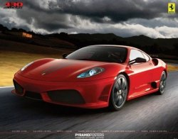 Ferrari (430 Scuderia) - plakat