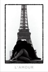L'amour (Eiffel Tower Lovers) - plakat