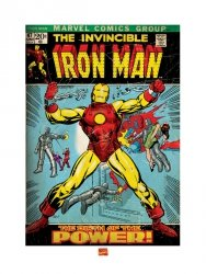Iron Man (Birth Of Power) - reprodukcja