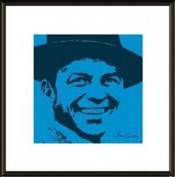 Frank Sinatra Blue - obraz w ramie