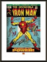 Obraz w ramie - Iron Man Birth Of Power
